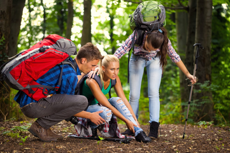 6 Most Common Outdoors Injuries and Ailments